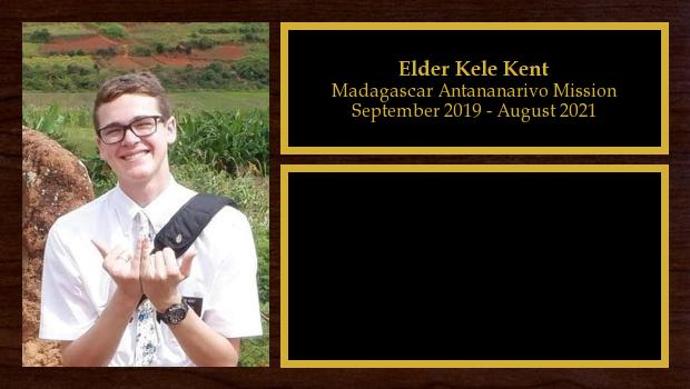 September 2019 to August 2021<br/>Elder Kele Kent