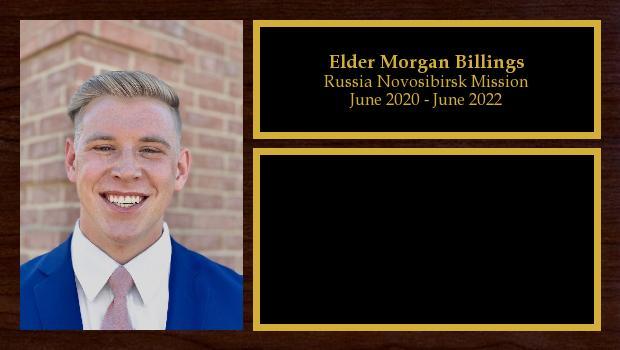 June 2020 to June 2022<br/>Elder Morgan Billings