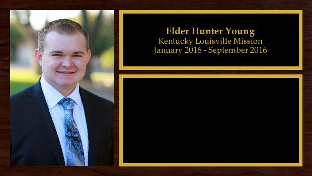 January 2016 to September 2016<br/>Elder Hunter Young