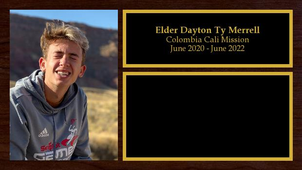 June 2020 to June 2022<br/>Elder Dayton Ty Merrell