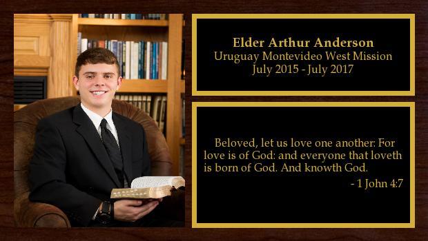 July 2015 to July 2017<br/>Elder Kathryn Anderson