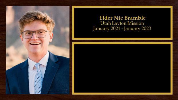 January 2021 to January 2023<br/>Elder Nic Bramble