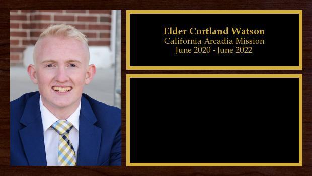 June 2020 to June 2022<br/>Elder Cortland Watson