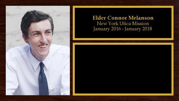 January 2016 to January 2018<br/>Elder Connor Melanson