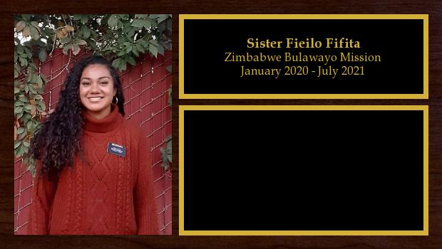 January 2020 to July 2021<br/>Sister Fieilo Fifita