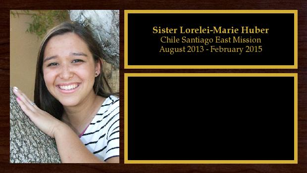 August 2013 to February 2015<br/>Sister Lorelei-Marie Huber