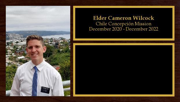 December 2020 to December 2022<br/>Elder Cameron Mission