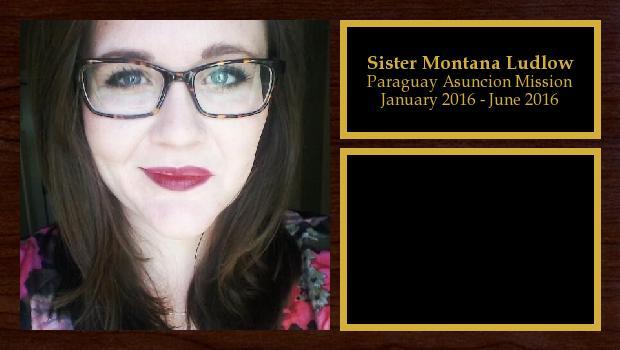 January 2016 to June 2016<br/>Sister Montana Ludlow