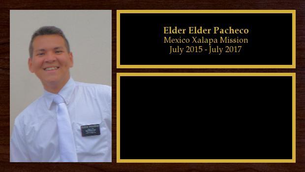 July 2015 to July 2017<br/>Elder Elder Pacheco