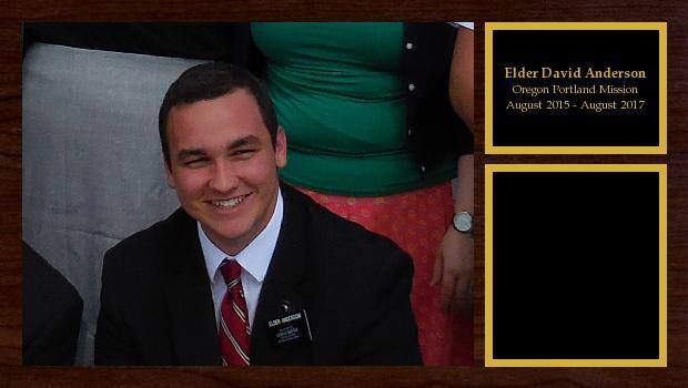 August 2015 to August 2017<br/>Elder David Anderson