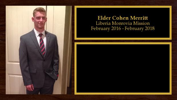 February 2016 to February 2018<br/>Elder Cohen Merritt