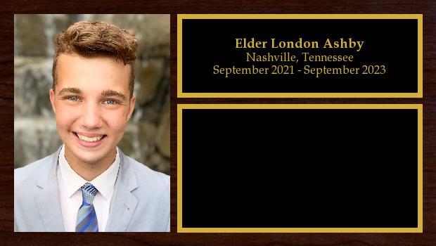 September 2021 to September 2023<br/>Elder London Ashby