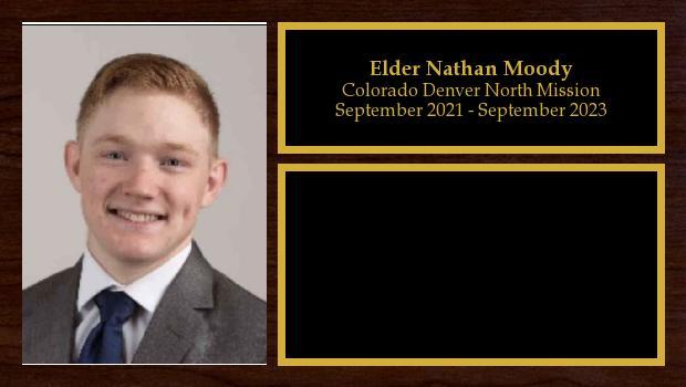 September 2021 to September 2023<br/>Elder Nathan Moody