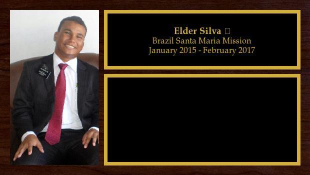 January 2015 to February 2017<br/>Elder Silva ❤