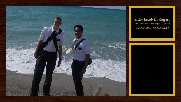 October 2013 to October 2015<br/>Elder Jacob D. Rogers