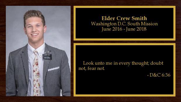 June 2016 to June 2018<br/>Elder Crew Smith