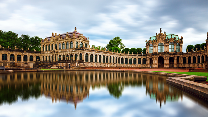 Dresden. Zwinger - palace complex