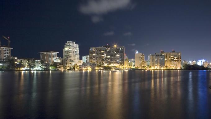 Condado in Santurce, a district of San Juan of Puerto Rico.