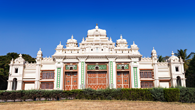 Jagan Mohan Palace in Mysore, Karnataka, India