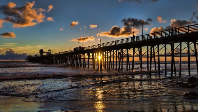 San Diego Pier.