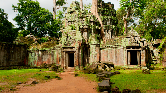 Ancient ruins found in Cambodia