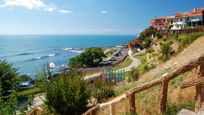 A view of the Bulgarian Coastline.