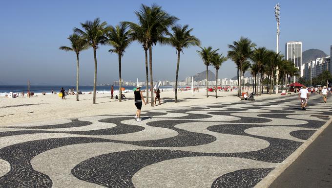 Copacabana, Rio de Janeiro.