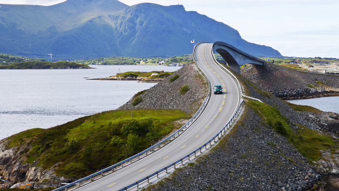 Attraction of middle Norway -  Atlantic Road