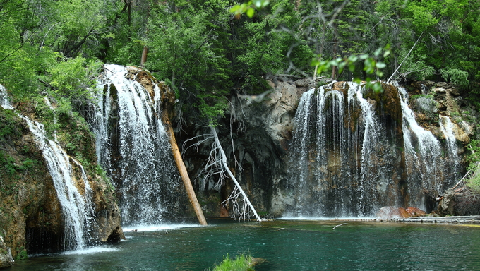 Hanging lake, Colorado.