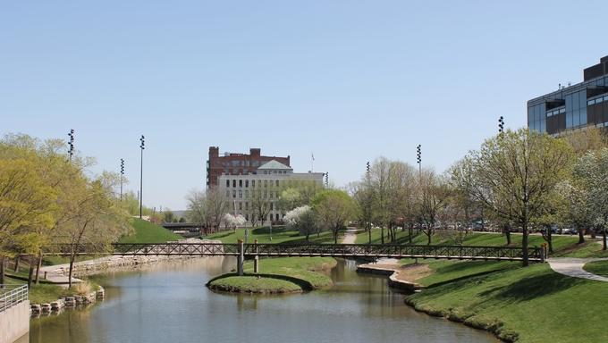 A sunny day in Nebraska.
