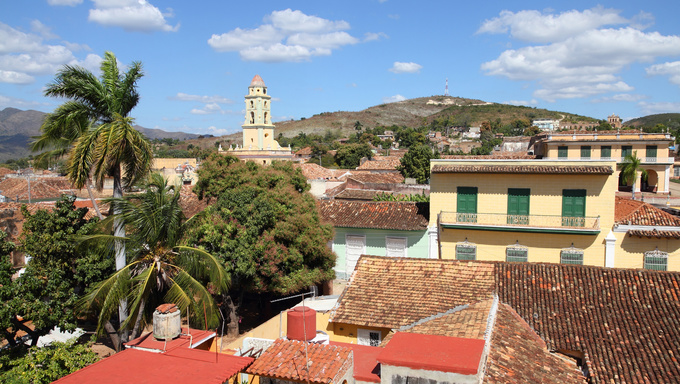 Trinidad, Cuba - colonial town cityscape. UNESCO World Heritage Site.