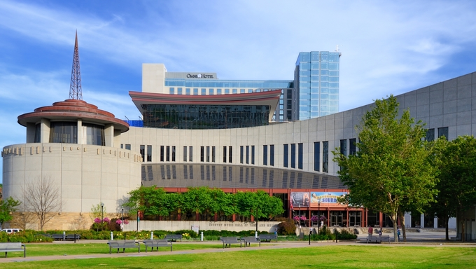 Country Music Hall of Fame and Museum in Nashville, TN. The museum opened in 1961 and preserves the evolving history and traditions of country music.