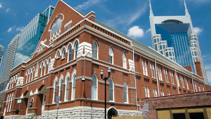 Ryman Auditorium in Nashville Tennessee.