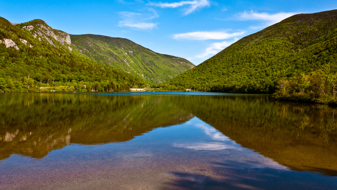 A shot of the New Hampshire Wilderness.