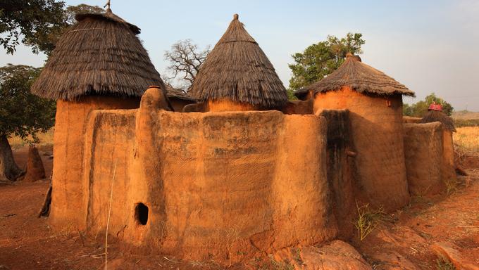 Betammaribe House, Benin.