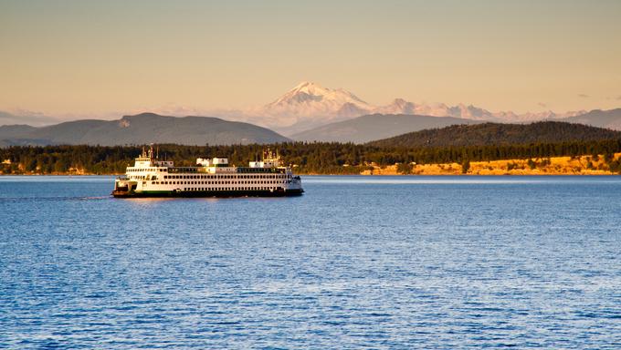 Ferry in Seattle.