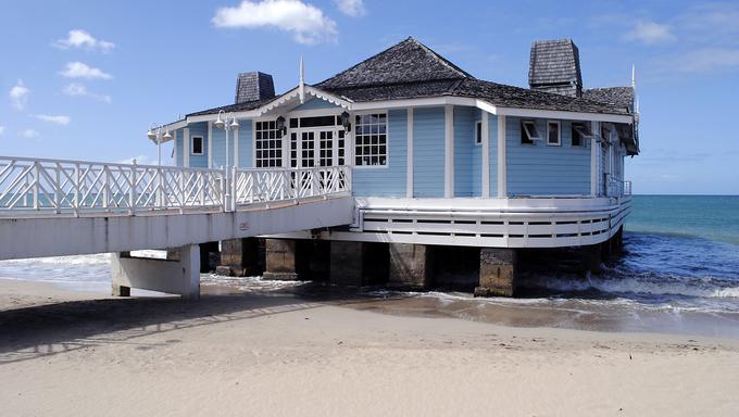Pier Restaurant Halcyon Beach St Lucia