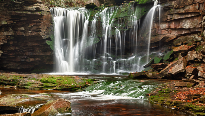 Elakala falls, Blackwater State park , West Virginia.
