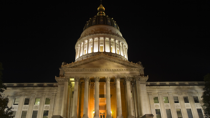 The State Capitol building of West Virginia