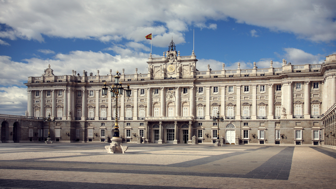 Palace Real de Madrid, Spain