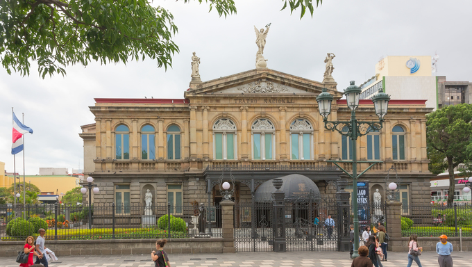National Theatre of Costa Rica in San Jose.