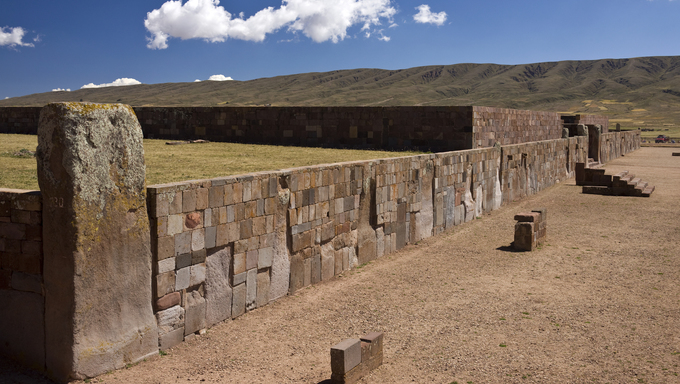 Tiwanka, La Paz- a precursor to the Inca empire.