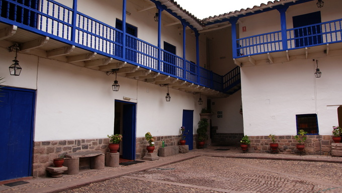 Living house in Cusco, Peru.