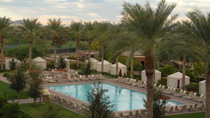 Hotel swimming pool, Scottsdale, Arizona