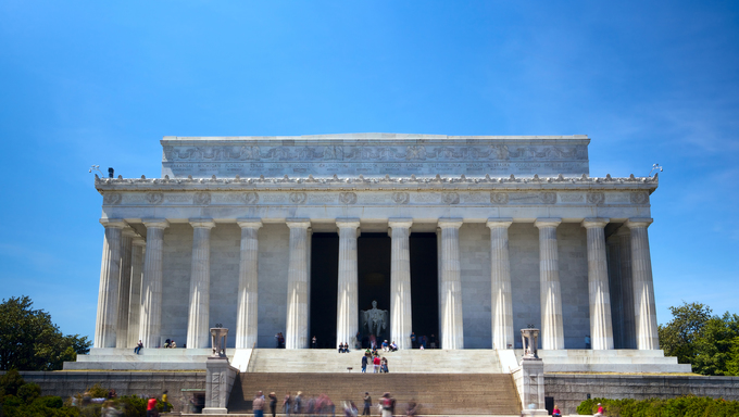 The Lincoln Memorial, Washington DC, USA