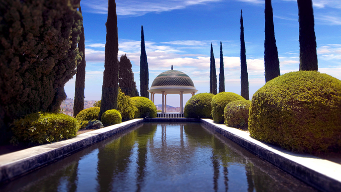 Conception garden, jardin la concepcion in Malaga (Spain)