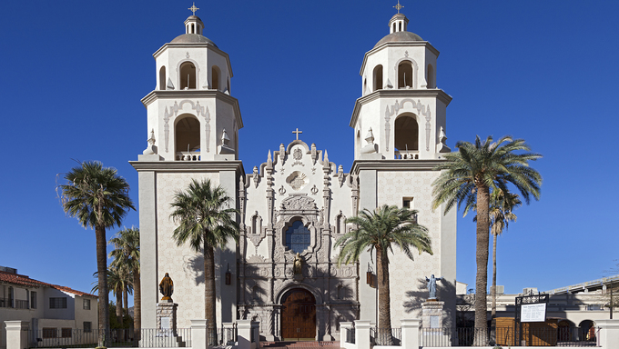 Saint Augustine Cathedral in Tucson, Arizona.