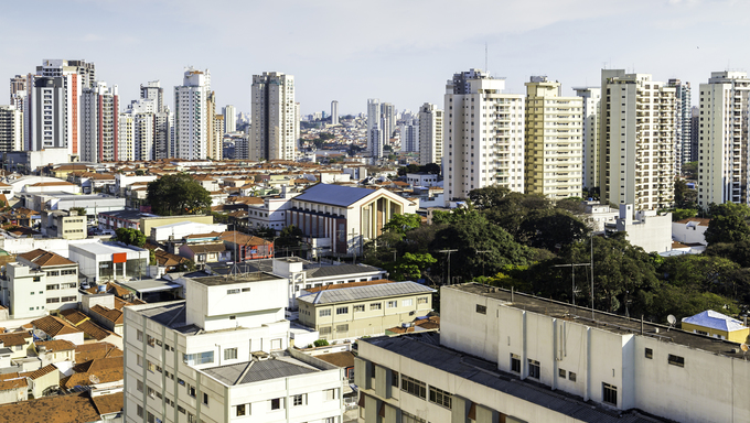 Buildings in Sao Paulo, Brazil.
