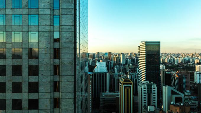 Sao Paulo Skyline, Brazil.