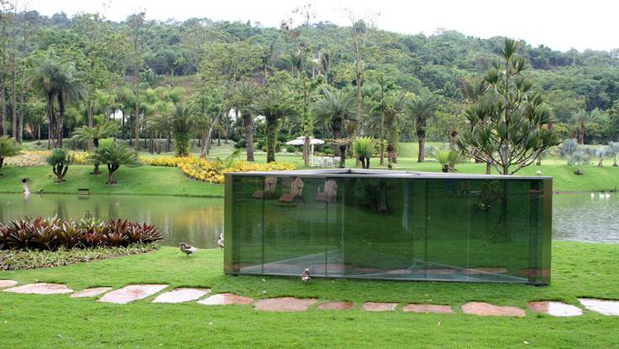Contemporary Art in the Instituto Cultural Inhotim.